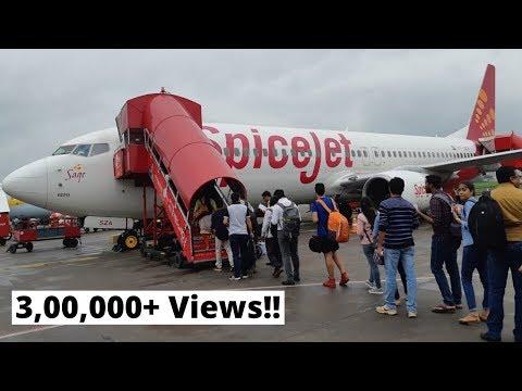 SPICEJET   FLIGHT REVIEW   Boeing 737   Pune - New Delhi
