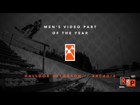 2017 Men's Video Part of the Year: Halldor Helgason  TransWorld SNOWboarding Riders' Poll 19