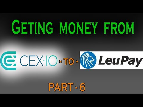 How To Get Your Crypto Money Out Form CEX To LEUPAY?? PART-6