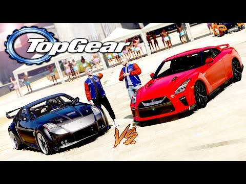 GTA V: TOP GEAR | CARRO NOVO do RD vs MEU CARRO, QUE RACHA INSANO!