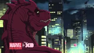 MARVEL'S HULK AND THE AGENTS OF S.M.A.S.H. - Devil Dinosaur wreaks havoc on Manhattan!