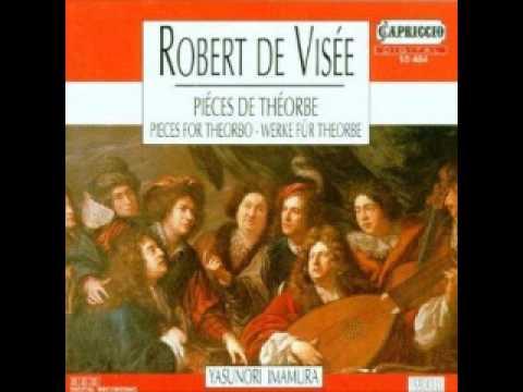 Robert De Visee: Pieces de Theorbe (Imamura)