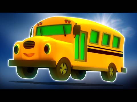 ruote del bus | bambini canzoni | rime per bambini | Wheels On The Bus | Nursery Rhymes For Kids