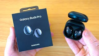 Samsung Galaxy Buds Pro (Black) Unboxing & First Impressions!