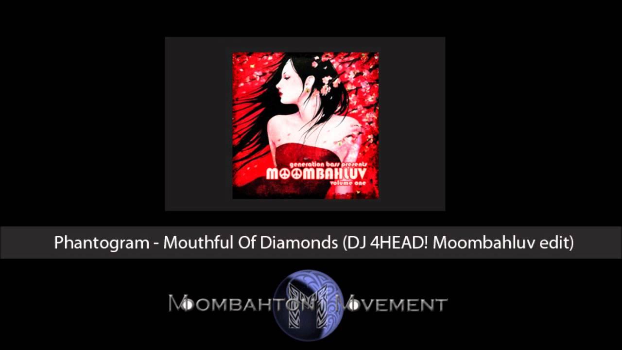 Phantogram - Mouthful Of Diamonds (DJ 4HEAD! Moombahluv edit)