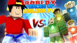 ROBLOX Adventure - HEROES OF ROBLOXIA - PVP SPECIAL!!!