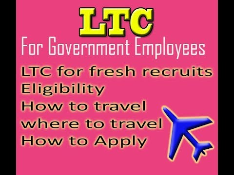 LTC (Leave Travel Concession) New Rules For Central Government Employees Hindi