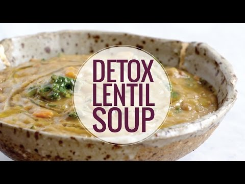 Crockpot Detox Lentil Soup