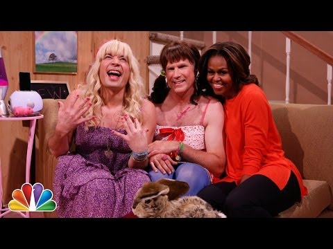 "Thumbnail: ""Ew!"" with Jimmy Fallon, Will Ferrell & First Lady Michelle Obama"