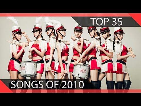 Top 35 KPOP Songs of 2010