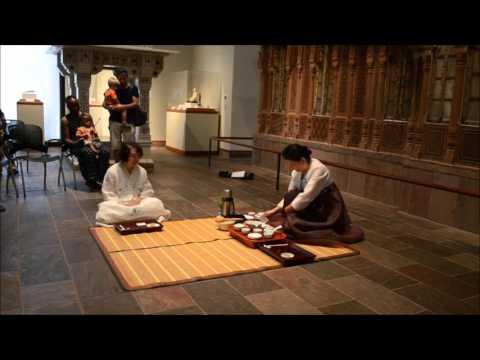 Korean Tea Ceremony by Nicole O Conrad