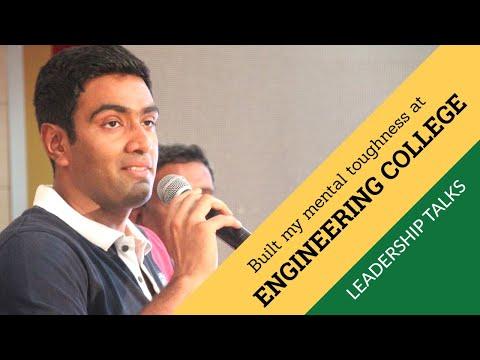 Engineering college experience prepared me for Cricket -  Ravichandran Ashwin | Leadership Talks