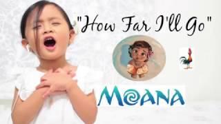 Disney's Moana - How far I'll go - cover ( Maxime - 3 year old)