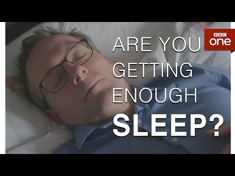Are you getting enough sleep? This simple test will tell you... - The Truth About... Sleep - BBC One