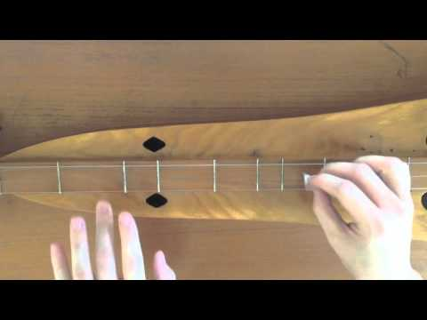 California - Joni Mitchell (Dulcimer Tutorial)