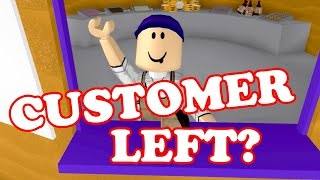 Roblox / CUSTOMER LEFT ME / Welcome to Bloxburg / GamingwithPawesomeTV