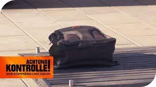 Herrenloses Gepäckstück vor einer Bank: Ist Sprengstoff darin? | Achtung Kontrolle | kabel eins