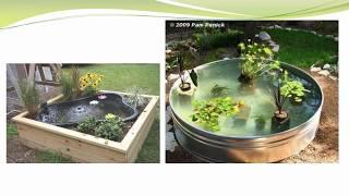 Keren nih !!! 40 Gallery Ide membuat Kolam ikan cantik di rumah anda