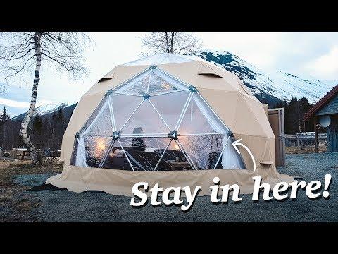 NORWAY'S ARCTIC DOME HOTEL TOUR!