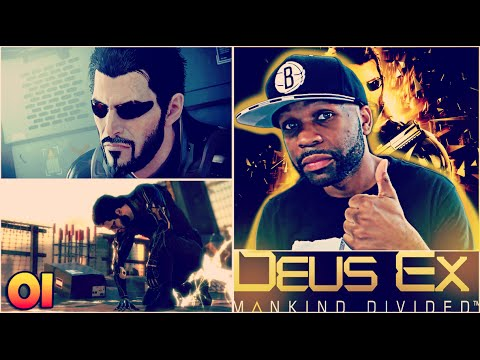 DEUS EX MANKIND DIVIDED WALKTHROUGH GAMEPLAY PART 1 - DUBAI WAS LIT
