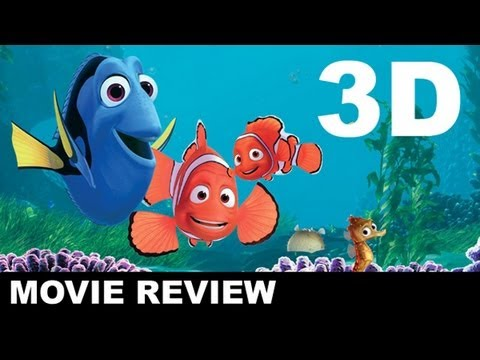Finding Nemo 3D Movie Review + Partysaurus Rex : Beyond The Trailer