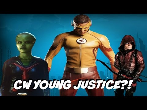 Live Action Young Justice Coming To The CW?!