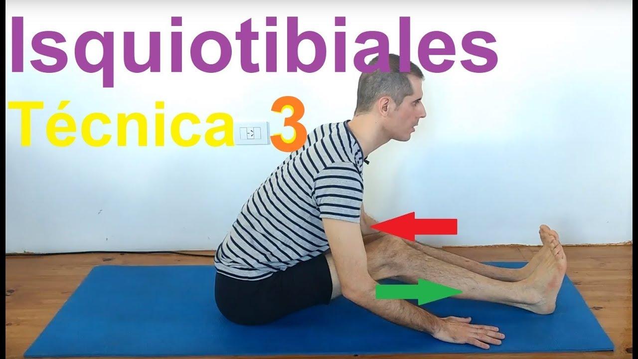 Paschimottanasana Yoga Técnica 3  Organo Golgi en isquiotibiales