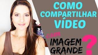 Como Compartilhar Vídeo do Youtube no Facebook?   Juliana Zammar