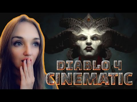 SSSunshine_X Reacting To Diablo 4 - Official Cinematic Trailer