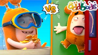 Unlucky Day Funny Moments   NEW Episode by @Oddbods & FRIENDS