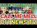 Backstage || Selfi yamma Lida di i news tv bersama Thomas Djorghi di call me mel