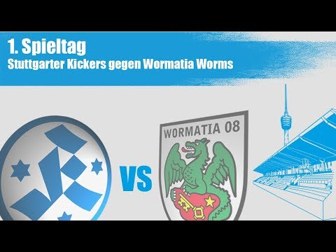 Stuttgarter Kickers vs Wormatia Worms - Spielbericht + Interviews