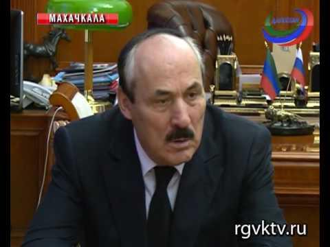 Глава Дагестана провел встречу с начальником Пограничного управления ФСБ РФ по РД