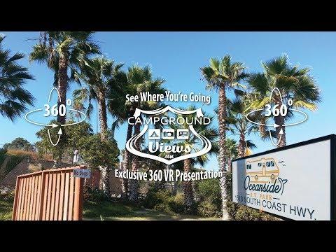 Oceanside RV Park Oceanside CA - Explore the Park Full 360 Virtual Tour