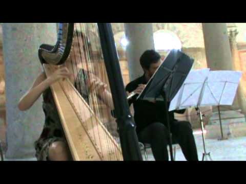 Pachelbel: Canone - flauto e arpa