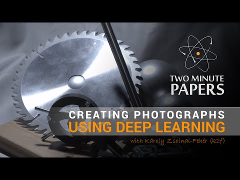Creating Photographs Using Deep Learning | Two Minute Papers #13