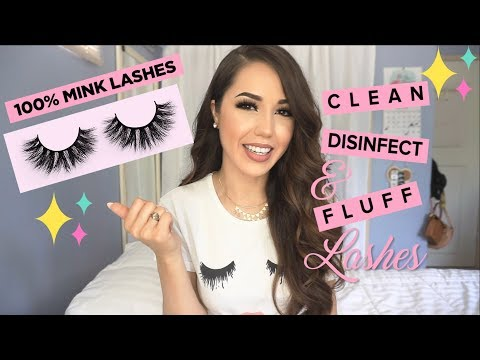 How to Clean False Lashes Quickly | Less Shedding + More Fluff!