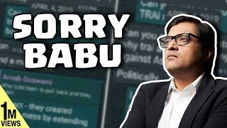 Arnab Goswami's Explosive Whatsapp 'leak' | TRPs at any cost at all | Deshbhakt with Akash Banerjee