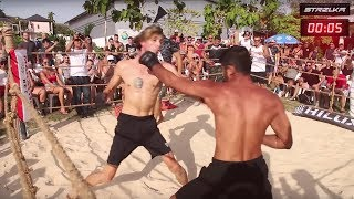 MMA FIGHTER run into Wrestler !!! Cool Fight !!!!