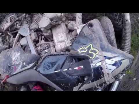 Черусти-Тихоново-Тасино DRZ400 Djebel250 TTR250Raid Эндуро с пассажиром