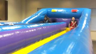 Bungee Run Company Picnic Grad Party College Event Michigan