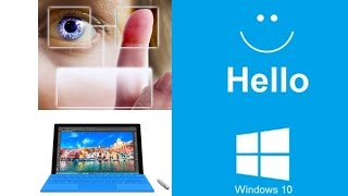 Windows Hello Facial Recognition on Surface Pro 4 : Quick Demo and How to Set Up