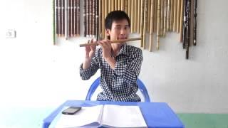 Hướng dẫn bài: Làng tôi- Văn Cao - sáo trúc Cao Trí Minh