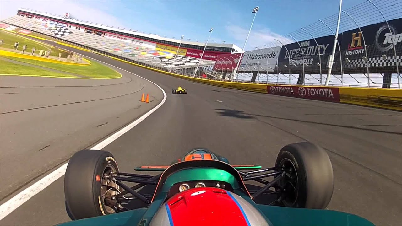 Mario andretti race experience charlotte motor speedway for Race at charlotte motor speedway