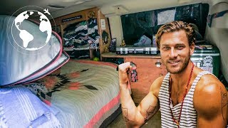 Professional Model leaves Beverly Hills to Live in a Van