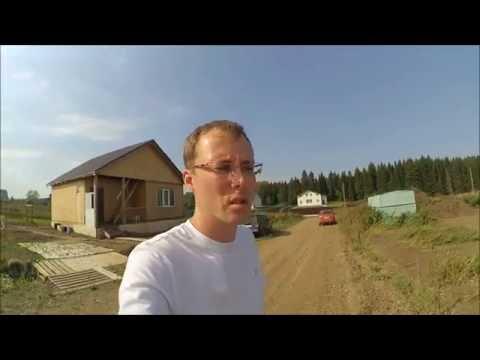 Строим дом из профилированного бруса камерной сушки на 150 м2 Планировка участка серия 1