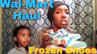 Wal-Mart Small haul | McDonald's | Frozen | interracial family vlogs | Tashell&3