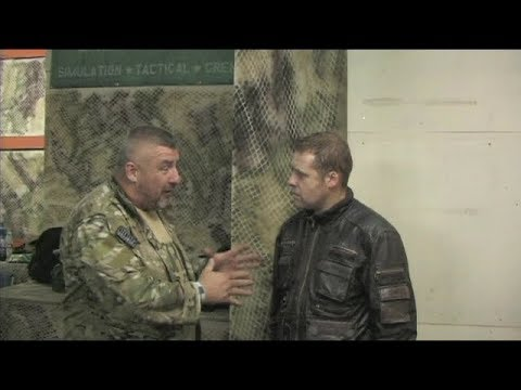 Meeting Big Phil Campion CQB airsoft SAS stand up to terror documentary