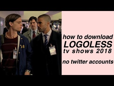 HOW TO DOWNLOAD LOGOLESS SHOWS 2018