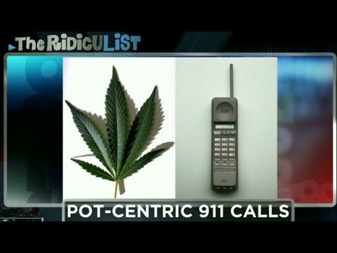 Marijuana smokers call 911 with amusing results.